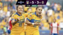 Resumen | Tigres sella el Bicampeonato al golear 5-2 a Chivas