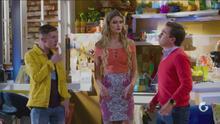 Vecinos - Capítulo 8 - Miguelito P. Luche y Benito se convierten en rivales por el amor de Liz