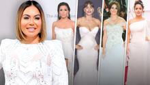 Chiquis Rivera y otras famosas que han usado vestidos de novia en la alfombra roja