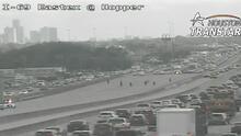 Reportan tiroteo en la carretera Eastex Freeway al norte de Houston, hay un herido