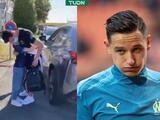 Niña, fan del Marsella, rompe en llanto tras despedirse de Thauvin