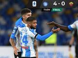 Napoli derrota a la Roma en el marco de un emotivo homenaje a Diego Armando Maradona