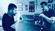 'Rocky' Balboa presume foto con Saúl 'Canelo' Alvarez