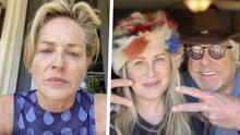 Hermana de Sharon Stone que padece Lupus está hospitalizada por covid-19