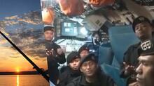 (Video) 'Adiós': la canción con la que la tripulación del submarino naufragado en Indonesia parece estarse despidiendo