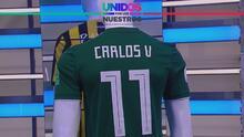 ¡Se lleva una joya! La camiseta de Carlos Vela tiene ganador en Memphis