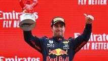 Checo Pérez cree que el manejo de llantas fue la clave de su podio
