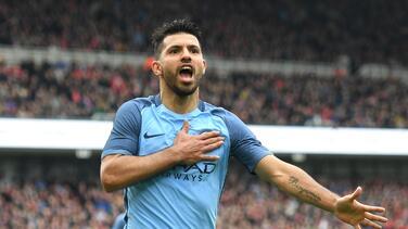 Silva y Agüero meten al Manchester City en semifinales de la FA Cup