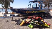 AZGFD intercambiará chalecos salvavidas que ya no sirven por nuevos este sábado