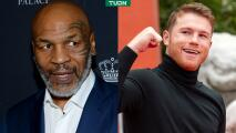Mike Tyson quiere que Canelo enfrente a mejores rivales