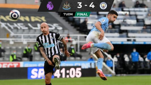 Feria de goles entre Newcastle y Manchester City
