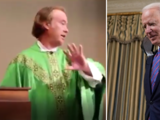 """""""Sobre mi cadáver"""": sacerdote no le daría la comunión a Biden por apoyar el aborto"""