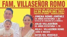 Miembros de la familia Villaseñor Romo aseguran que sus captores les dijeron que los liberaron porque se volvieron famosos