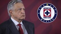 """""""La calumnia cuando no mancha tizna"""": La respuesta de AMLO ante rumores de que uno de sus hijos compraría al Cruz Azul"""