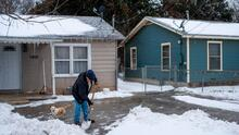 Autoridades del condado Harris habilitan una encuesta para evaluar los daños de la tormenta invernal
