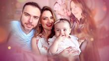Michelle Galván y su esposo ya tienen competencia: baby Megan ya reconoce una tercera voz