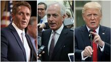 """Jeff Flake y Bob Corker critican a Trump por su comportamiento """"imprudente, escandaloso e indigno"""""""