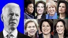 Los nombres de estas mujeres suenan para vicepresidenta de Joe Biden (y dos son latinas)