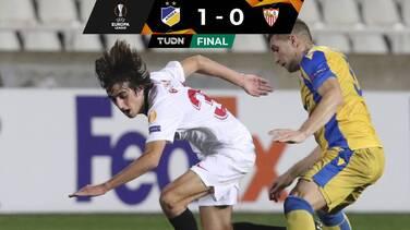 El Sevilla y Chicharito tropiezan en la Europa League