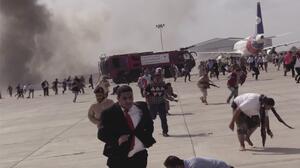 """Decenas de muertos y heridos tras """"varias explosiones"""" en aeropuerto de Yemen"""