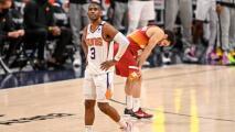 Chris Paul, listo para disputar el Juego 3 de la serie Clippers-Suns