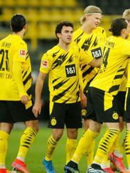 Los goles de julian Brandt (54') y Youssoufa Moukoko (90+1'), El Dortmund vence 2-0 al Hertha Berlin y toman la quinta posición de manera momentánea.