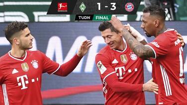 Bayern despacha al Bremen y asegura el liderato otra jornada