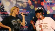 Dinah Jane takes over the Uforia Lounge