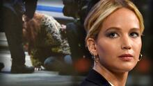 Fotos: Jennifer Lawrence casi pierde el ojo por un truco que salió mal en el set