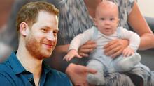 """El príncipe Harry dice que su vida en EEUU es """"fantástica"""" y revela los planes que tiene para su hijo Archie"""