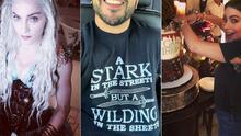 EN FOTOS: Famosos que son fanáticos de The Game of Thrones