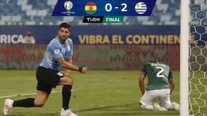 Concierto de fallas, pero Uruguay amarra el boleto a Cuartos
