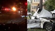 Aparatoso accidente cobra la vida de un hispano y deja a otros gravemente heridos