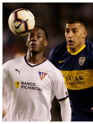 Luis 'Kunty' Caicedo es un zaguero ecuatoriano que no se adaptó a la Liga MX tras llegar con cartel sudamericano.