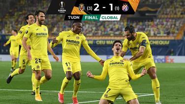Submarino a Semis: Villarreal venció a Dinamo y avanzó en Europa League