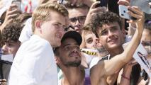 Matthijs de Ligt llegó a Turín para firmar con Juventus