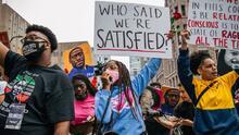 Vuelven las marchas contra el abuso policial en vísperas del aniversario de la muerte de George Floyd