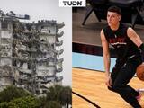 Miami Heat apoya con víveres tras derrumbe de edificio en Surfside
