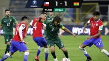 Chile empata y se queda rezagado en las Eliminatorias