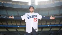 Dodgers presenta a pitcher que apoyó muro de Trump