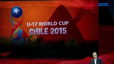 Quedaron definidos los grupos del Mundial Sub 17 de Chile 2015