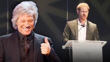 Ahora que Harry ya no quiere que lo llamen 'príncipe', el roquero Jon Bon Jovi encontró una creativa manera para referirse a él