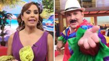 Detrás de cámaras: Karla tuvo mucha comezón y Alan se compara con Antonio Banderas