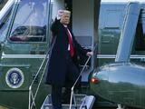"""""""Volveremos de alguna forma"""", advierte Trump en su despedida de Washington y de la presidencia"""