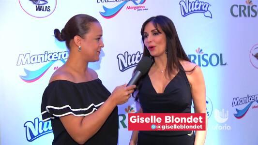 Gisselle Blondet trata de no llorar en Pequeños Gigantes USA.