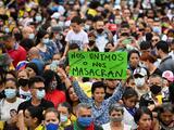 Hallan la cabeza decapitada de un joven señalado como manifestante en Colombia