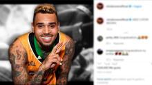 Chris Brown se convirtió en padre por segunda vez y compartió una foto de su bebé