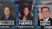 Tres aspirantes demócratas abandonan la carrera por la nominación presidencial de su partido en menos de 48 horas