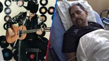 Tras ser diagnosticado con cáncer, Beto Terrazas manda mensaje desde el hospital