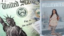 En un año madre soltera pasa de desempleada a autora y millonaria con el cheque de estímulo económico